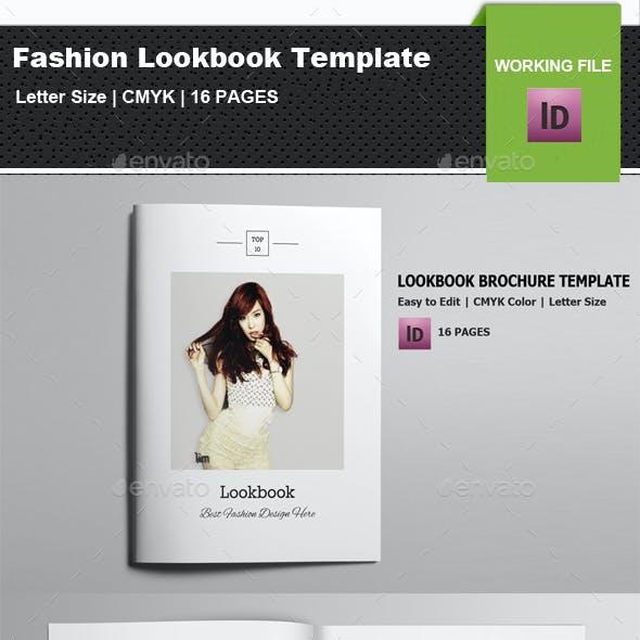 InDesign Fashion Lookbook/Brochure Template-V03