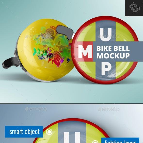 Bicycle Bell Mockup
