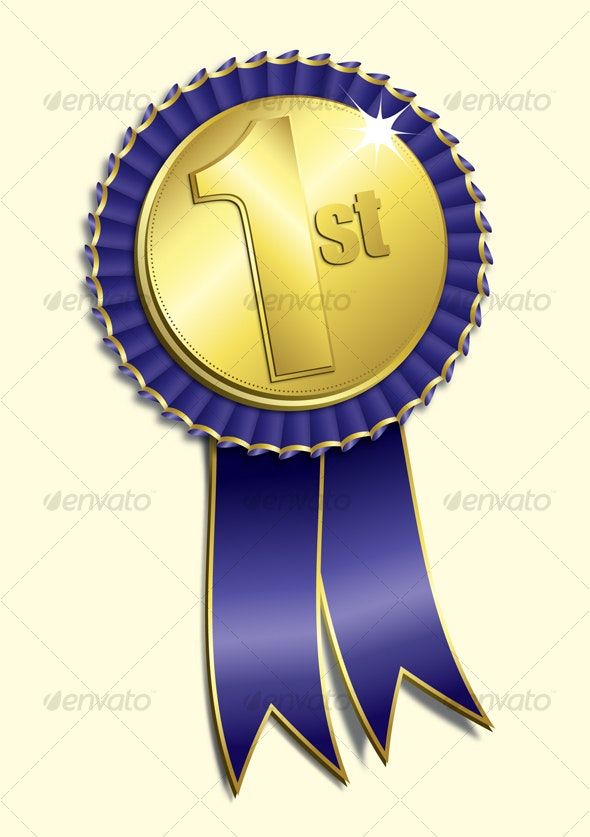 1st Place Medal - Decorative Symbols Decorative