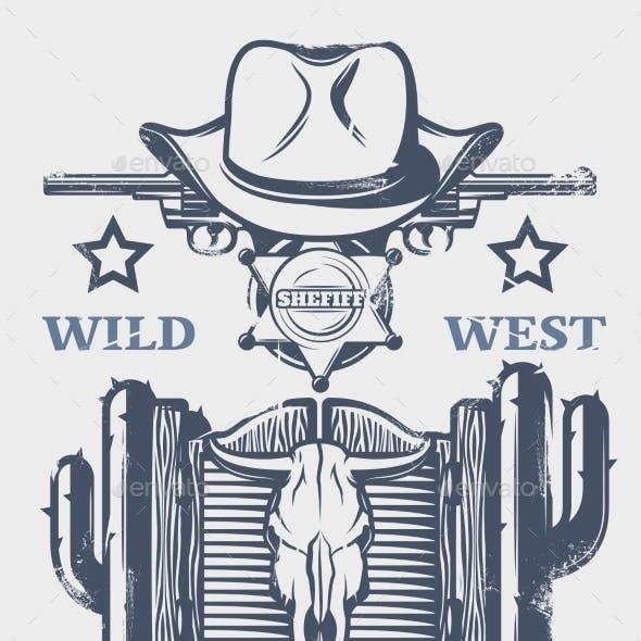 Wild West Print