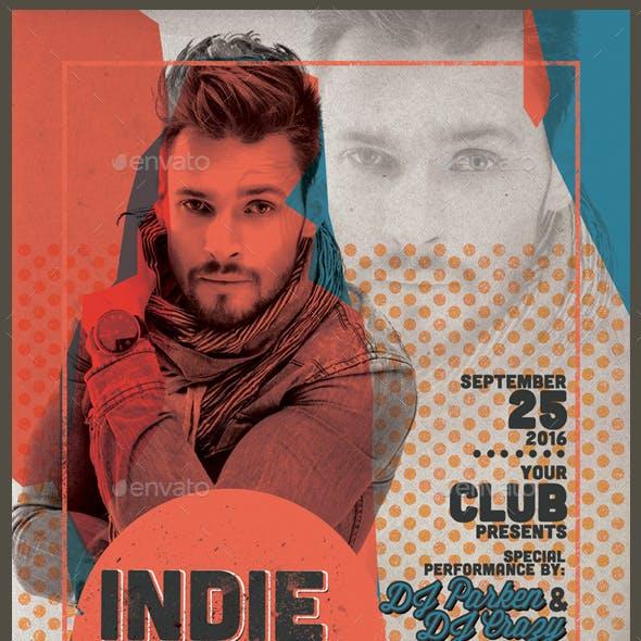 Indie Guest Flyer