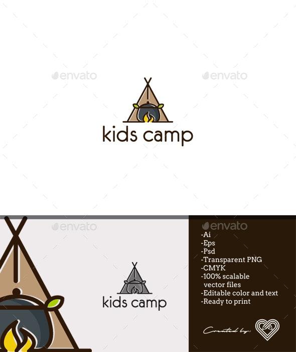 Kids Camp - Nature Logo Templates