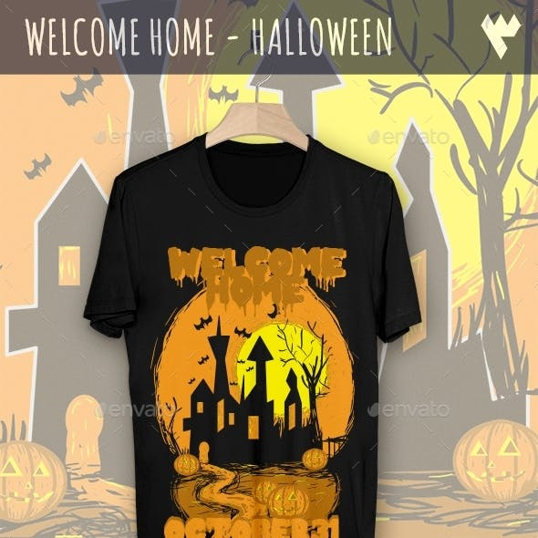 Welcome Home - Halloween