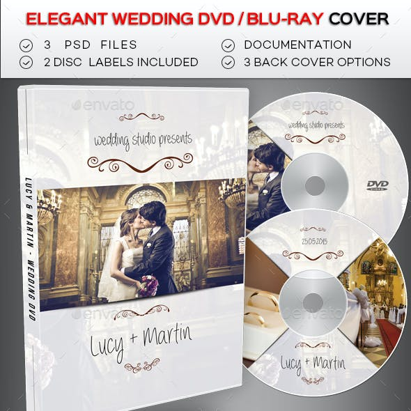 Wedding DVD / Blu Ray Cover 2