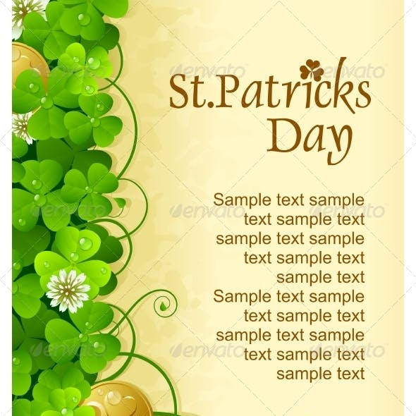 Saintt Patrick Day frame