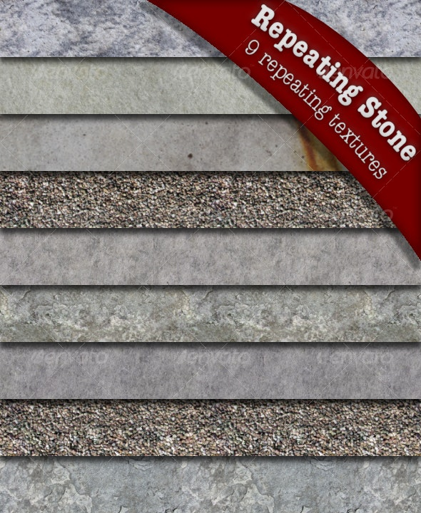 Repeating Stones Texture Pack - Stone Textures