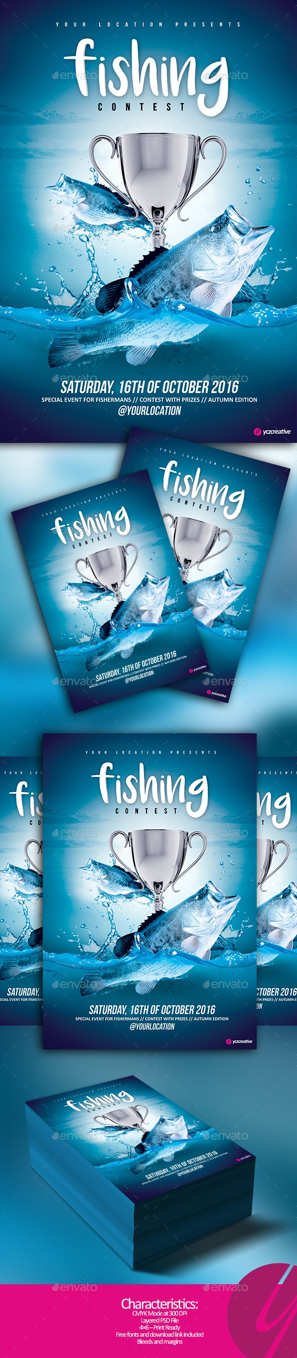 Fishing Contest - Sports Events