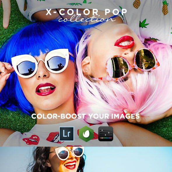 20 x-Color Boost Lightroom Presets / Vol.1