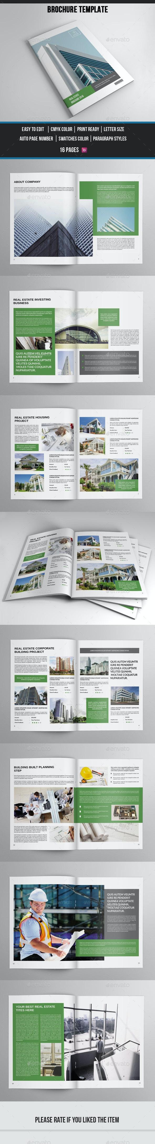 Real Estate Brochure Template-V402 - Corporate Brochures