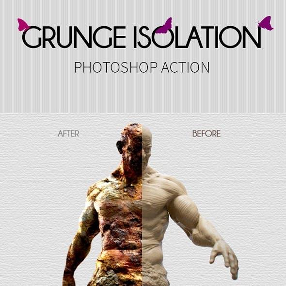Grunge Isolation Photoshop Action