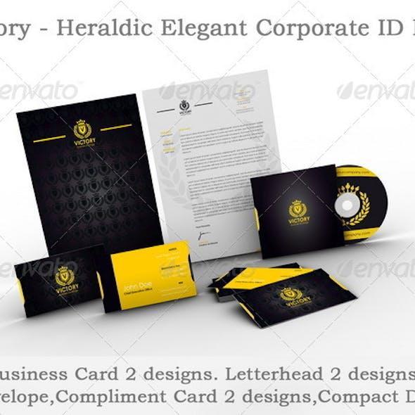 Victory - Heraldic Elegant Corporate ID Pack