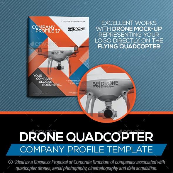 Drone Quadcopter - Company Profile | Business Proposal
