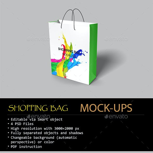 Shopping Bag Mock-ups