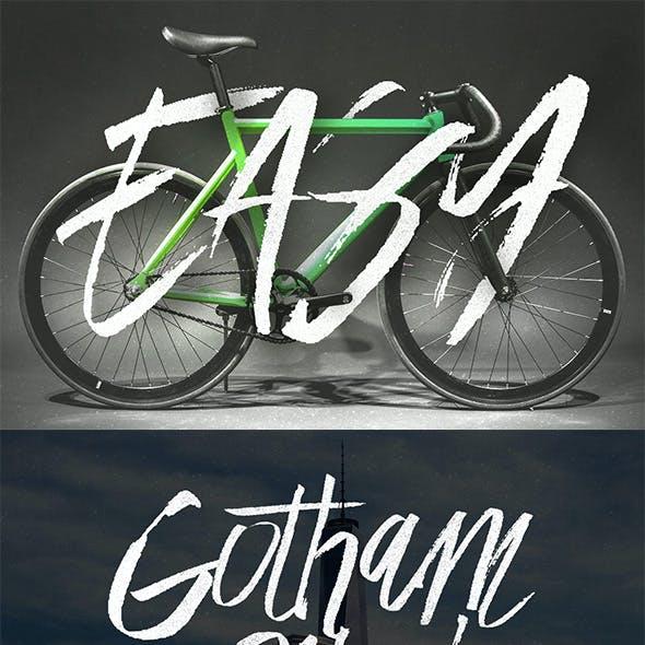 Easy Brush Font