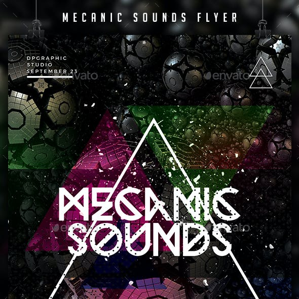 Mecanic Sounds Flyer