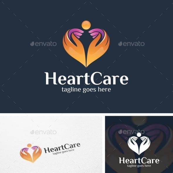 Heart Care - Logo Template