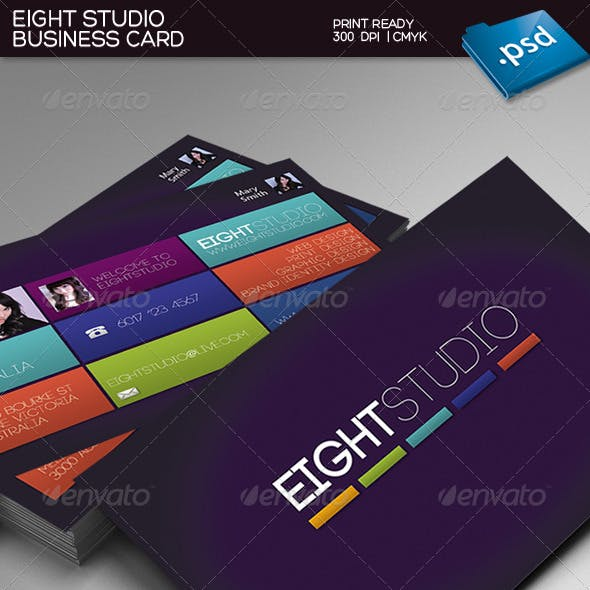 Eight Studio Business Card
