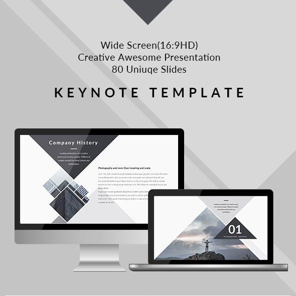 Design - Clean & Creative Keynote Template