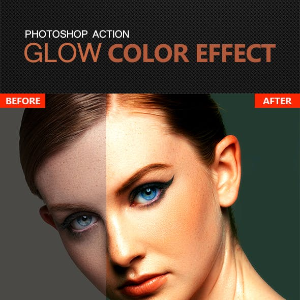 Glow Color Effect Ps Action