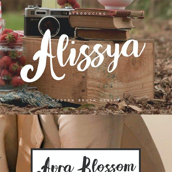 Alissya Typeface