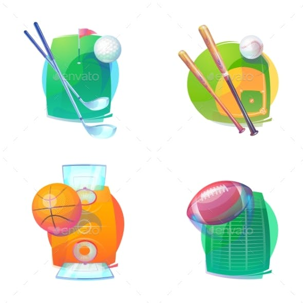Basketball Baseball Golf and Rugby Accessories