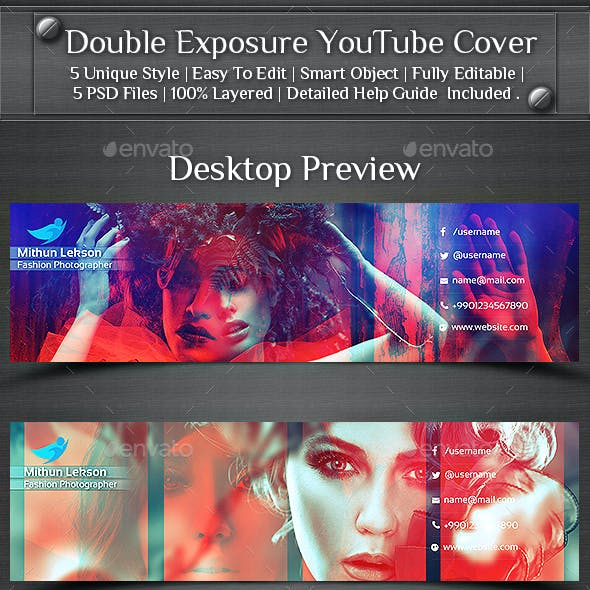 Double Exposure YouTube Cover