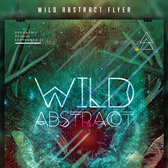Wild Abstract Flyer