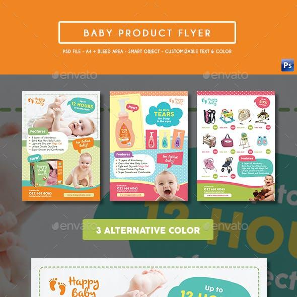 Baby Product Flyer / Magazine Ad