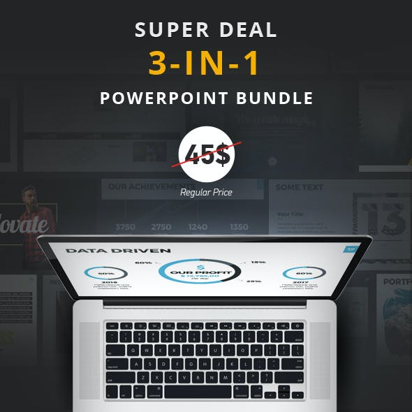 3-in-1 SuperDeal PowerPoint Bundle