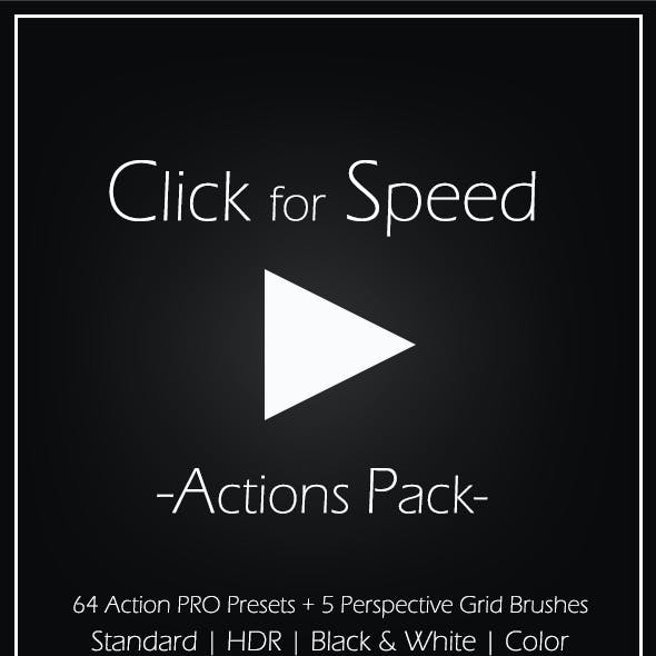 Click for Speed Action Pack