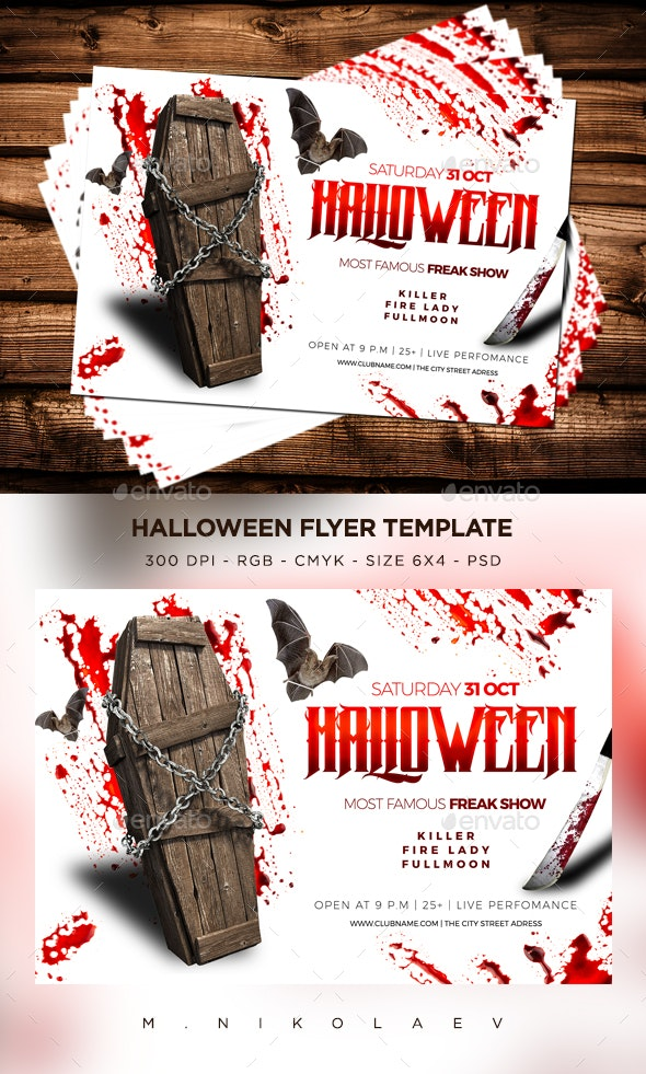 Halloween Flyer V16 - Clubs & Parties Events