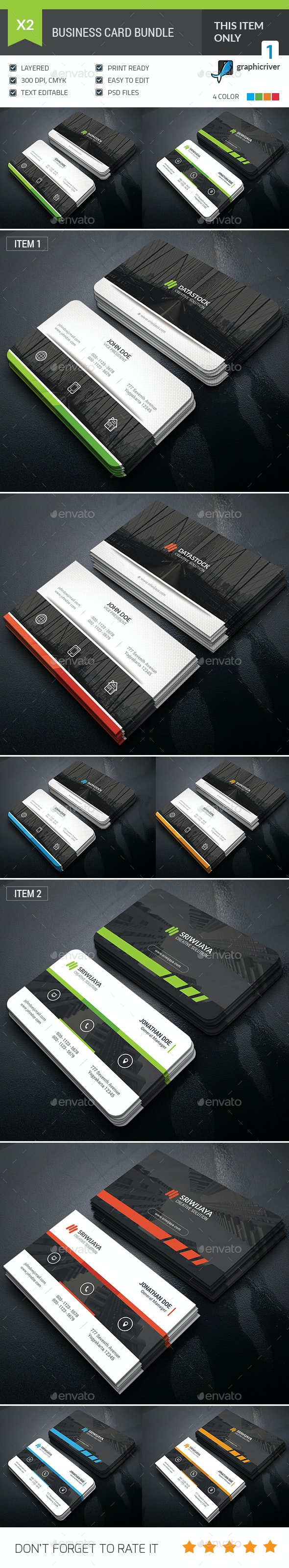 Business Card Bundle - Corporate Business Cards