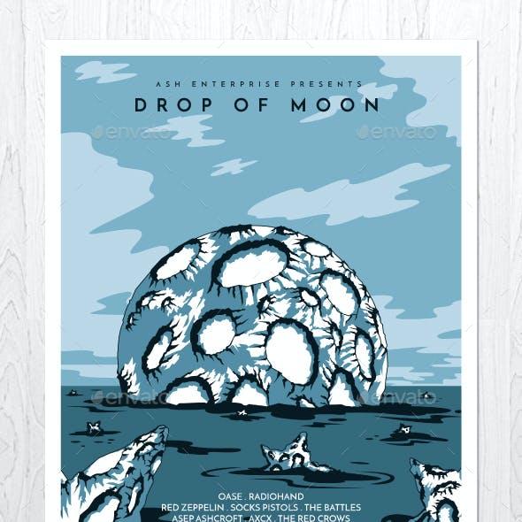 Drop of Moon Flyer