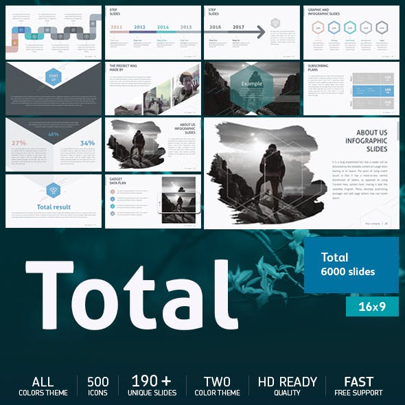 Total Powerpoint Template