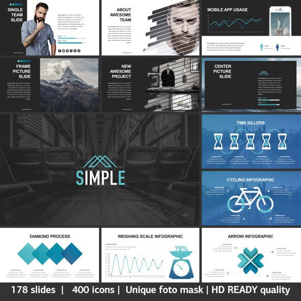 Simple - Premium and Easy to Edit Template