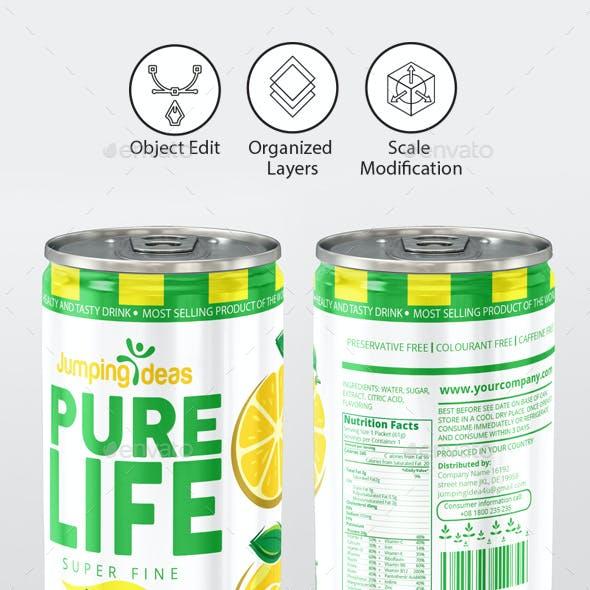Fruit Drink Template