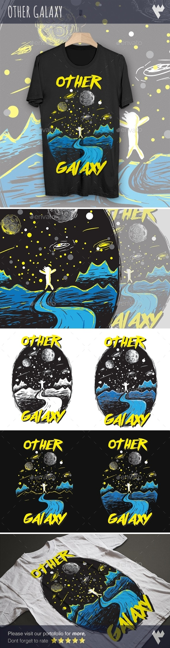 Other Galaxy - Designs T-Shirts