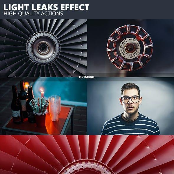 Pro Light Leaks Actions