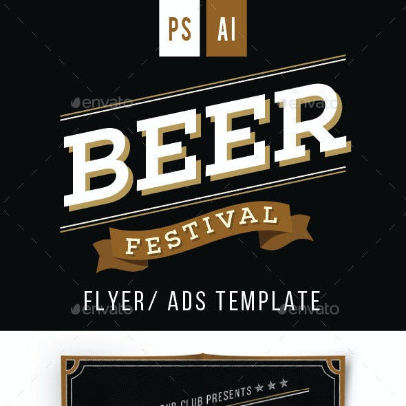 Beer Festival Flyer Vol.2
