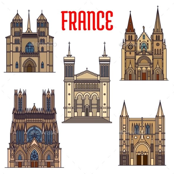 Travel Landmarks of French Gothic Architecture