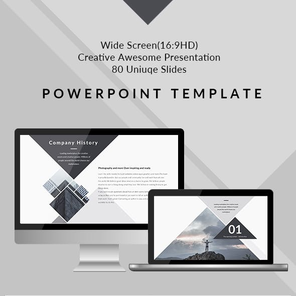 Design - Clean & Creative PowerPoint Presentation