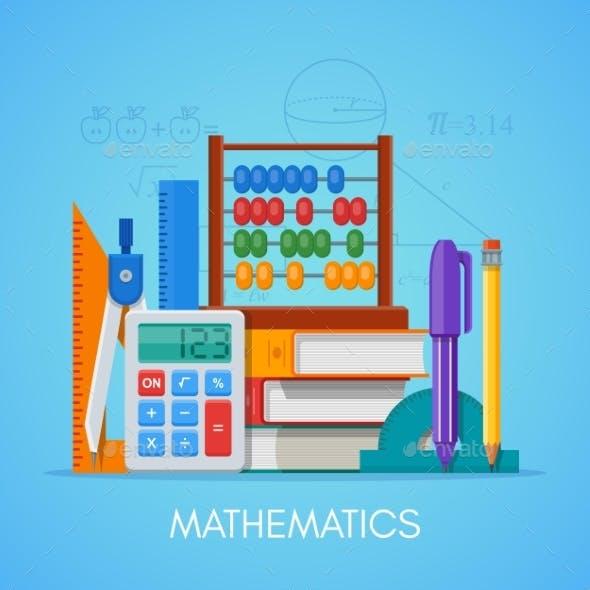 Math Science Education Concept