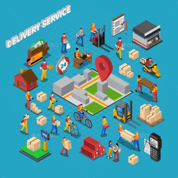 Delivery Service Concept Composition