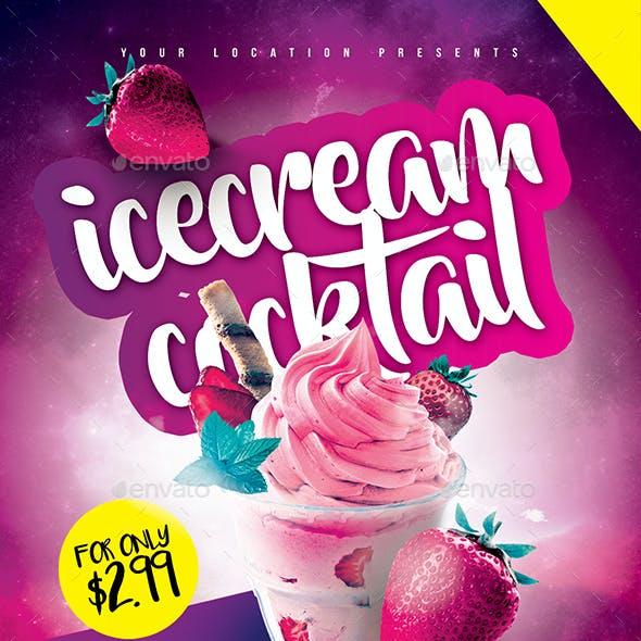 Icecream Cocktail Taste