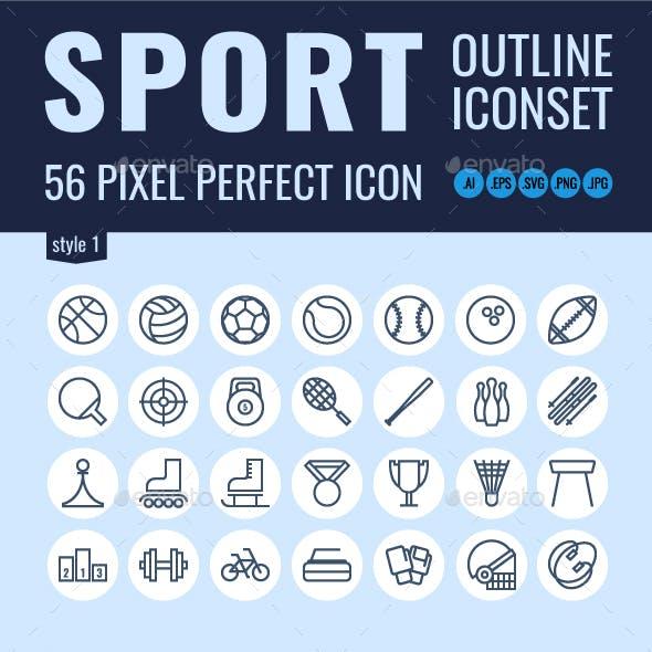 56 Sport icons