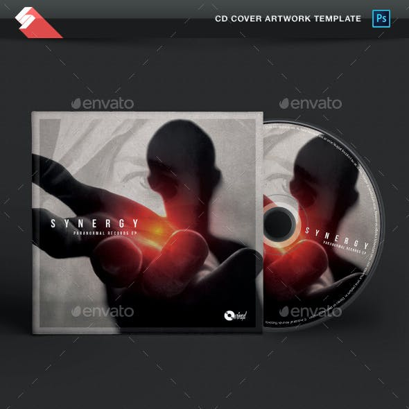 Synergy - Creative CD Cover Artwork Template
