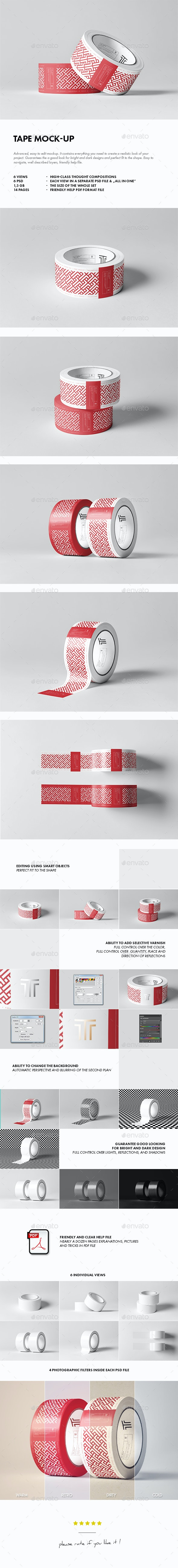 Duct Tape Mock-up - Miscellaneous Product Mock-Ups
