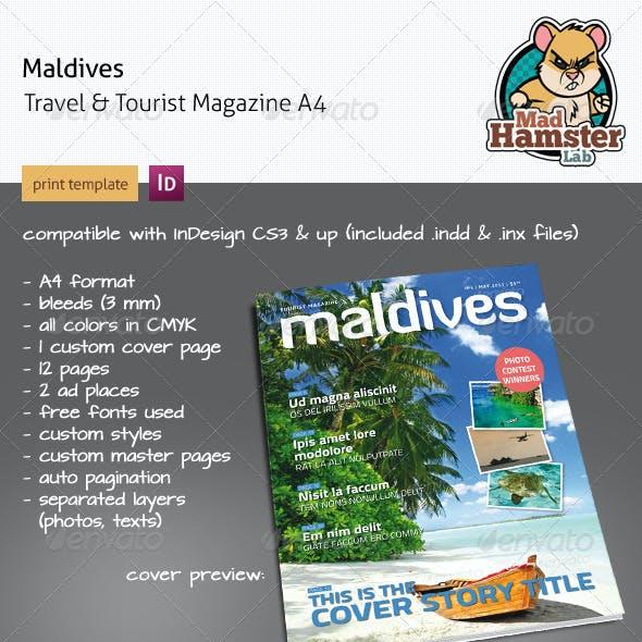 Maldives Tourist & Travel Magazine A4