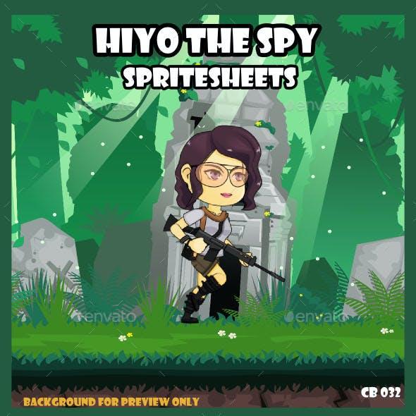 Game Asset : Spy Girl