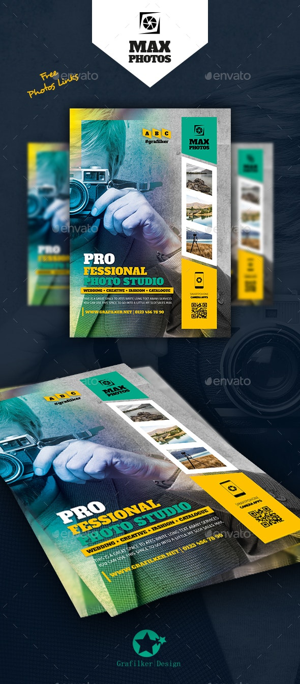 Photography Flyer Templates - Corporate Flyers